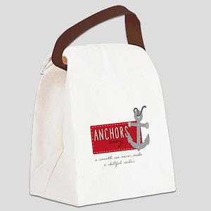 Skillfull Sailor Canvas Lunch Bag