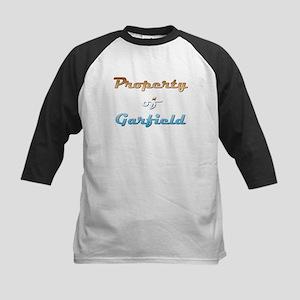 Property Of Garfield Male Kids Baseball Tee