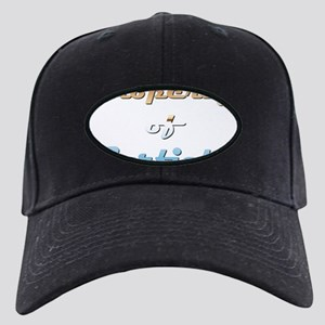 Property Of Garfield Male Black Cap with Patch