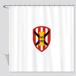 7th Engineer Bde Shower Curtain
