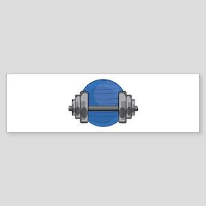 Workout Gear Bumper Sticker