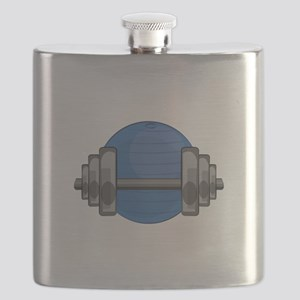 Workout Gear Flask