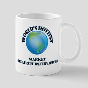 World's Hottest Market Research Interviewer Mugs
