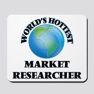 World's Hottest Market Researcher Mousepad
