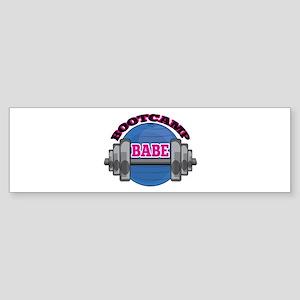 Bootcamp Babe Bumper Sticker
