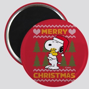 Snoopy Merry Magnet