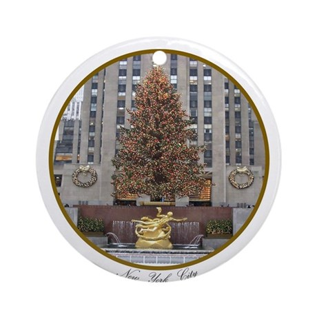 New York City Christmas Ornament