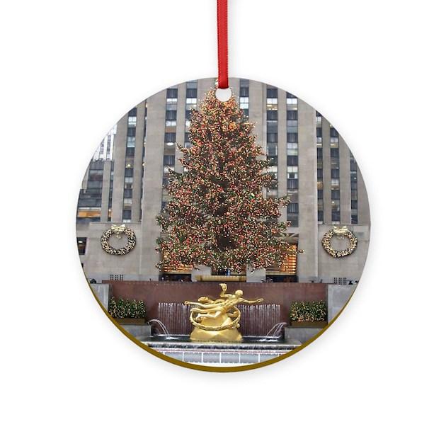 New York City Christmas Ornament by cityprintshop