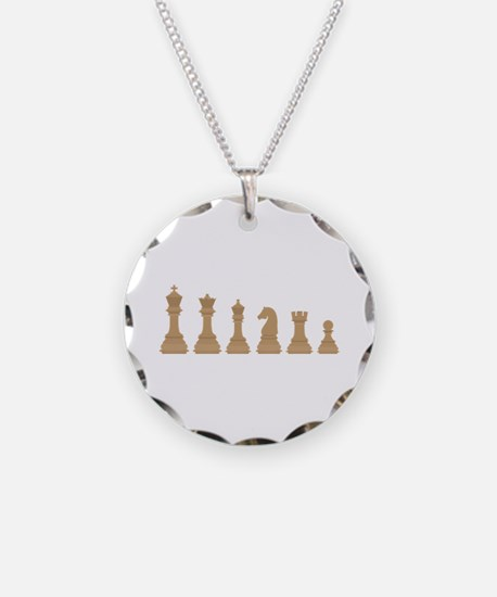 Chess Pieces Necklace
