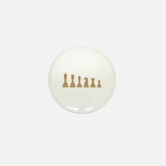 Chess Pieces Mini Button
