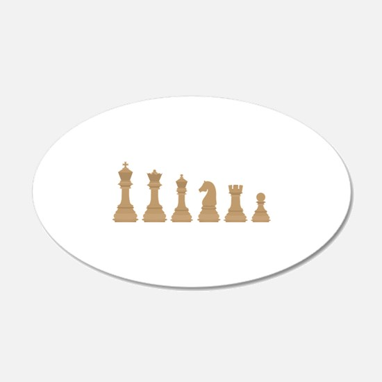 Chess Pieces Wall Decal