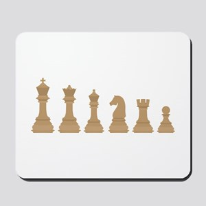 Chess Pieces Mousepad