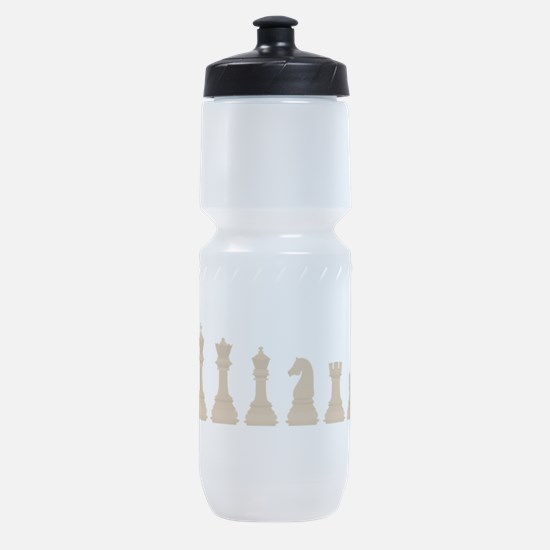 Chess Pieces Sports Bottle