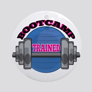 Bootcamp Trained Ornament (Round)