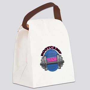 Bootcamp Trained Canvas Lunch Bag