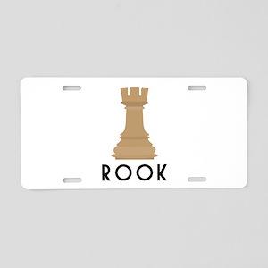 Rook Aluminum License Plate