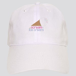 I Scream Ice Cream! Baseball Cap
