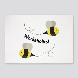 Workaholics! 5'x7'Area Rug