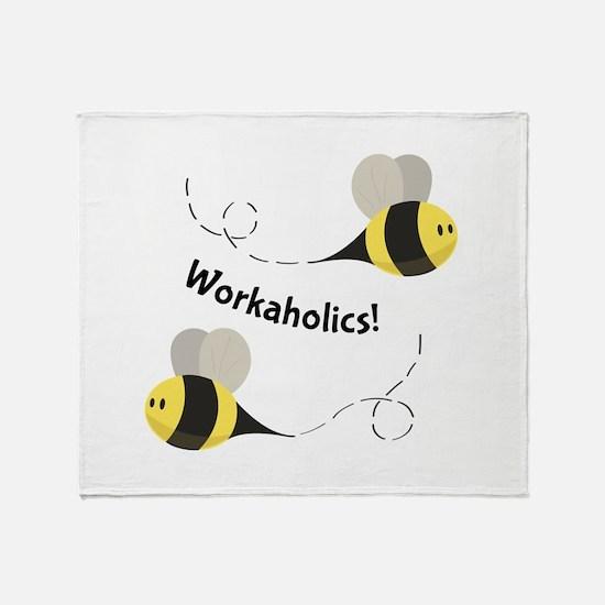 Workaholics! Throw Blanket