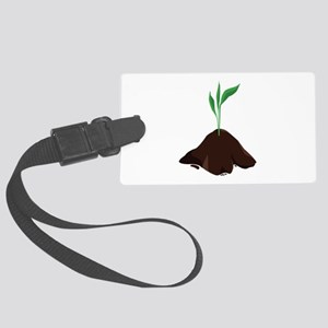 Plant Sprout Luggage Tag