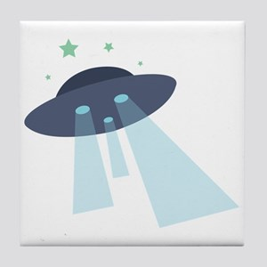 Sight The UFO! Tile Coaster