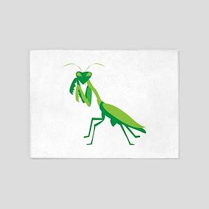 Praying Mantis 5'x7'Area Rug