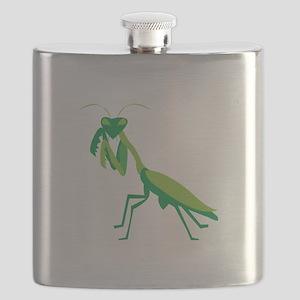 Praying Mantis Flask