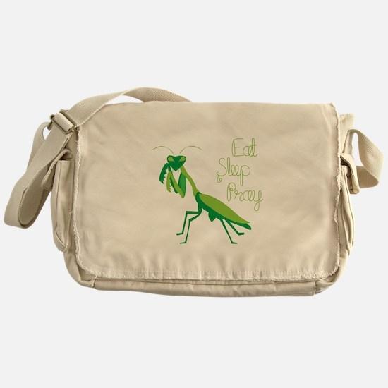 Eat Sleep Pray Messenger Bag