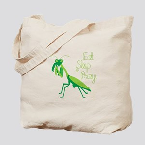 Eat Sleep Pray Tote Bag