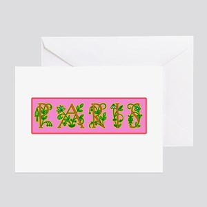 Fleur de Paris Greeting Cards (Pk of 10)