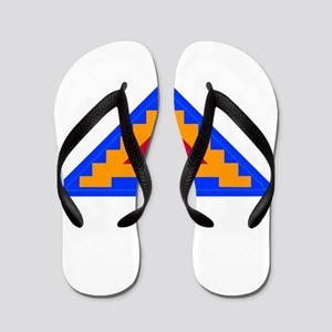 7TH_army_patch Flip Flops