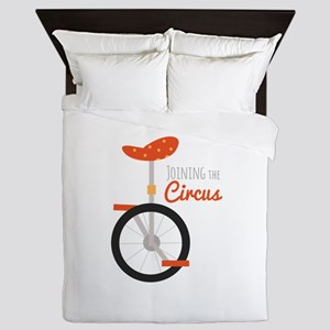 Joining The Circus Queen Duvet