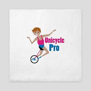 Unicycle Pro Queen Duvet