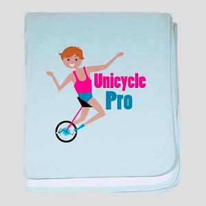 Unicycle Pro baby blanket