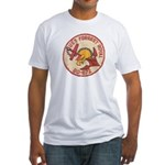 USS FORREST ROYAL Fitted T-Shirt