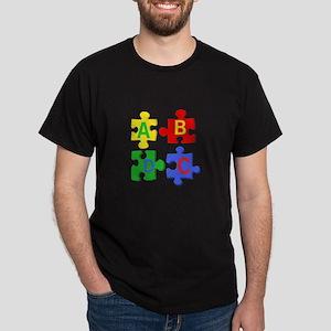 Puzzle Letters T-Shirt