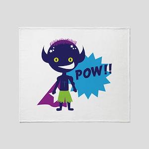 Pow!! Throw Blanket