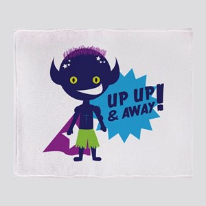 Up Up & Away! Throw Blanket