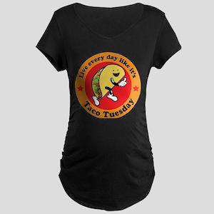 Taco Tuesday Every Day Maternity T-Shirt