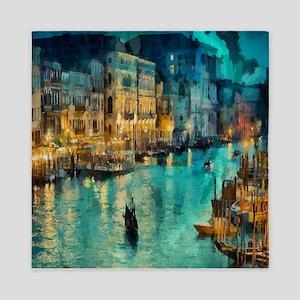Venice Painting Queen Duvet