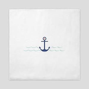 Ship Anchor Queen Duvet