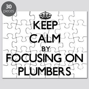 Keep Calm by focusing on Plumbers Puzzle
