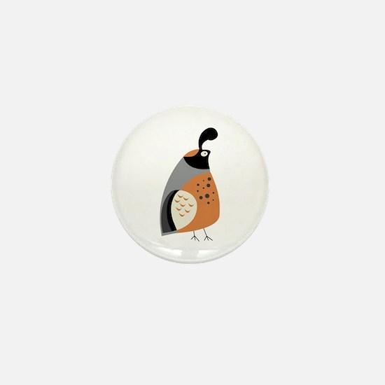 Partridge Mini Button