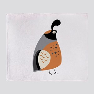 Partridge Throw Blanket