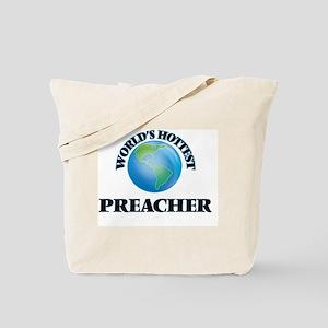 World's Hottest Preacher Tote Bag