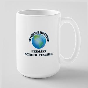 World's Hottest Primary School Teacher Mugs