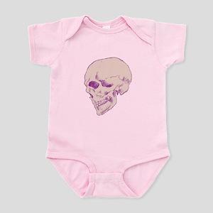 Purple Pop Skull Body Suit