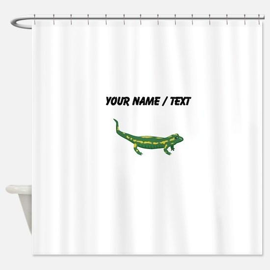 Custom Salamander Shower Curtain