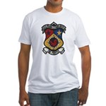 USS FRANK E. EVANS Fitted T-Shirt