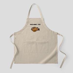 Custom Puffer Fish Apron